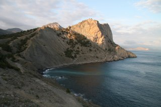 Гора Орёл и Синяя бухта