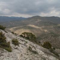 Вид с вершины горы Сокол